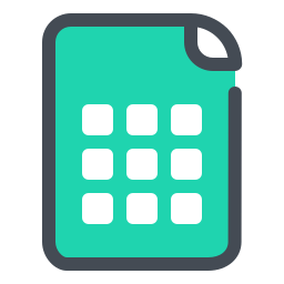 Spreadsheet File icon