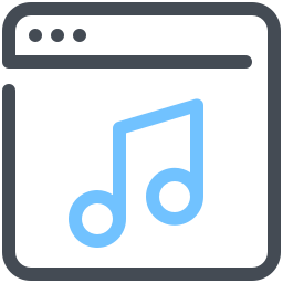 Streaming Audio icon