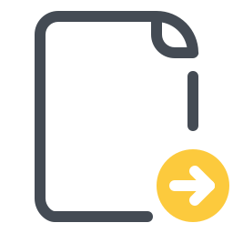 Envoyer un document icon