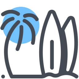 Surf And Palm icon