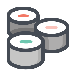 Sushi Icon Free Download Png And Vector