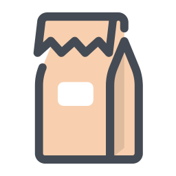 Take Away Food Bag icon