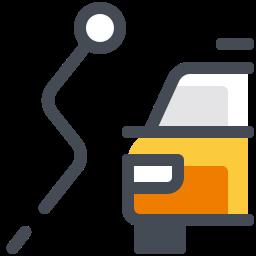 Taxi Alternative Route icon