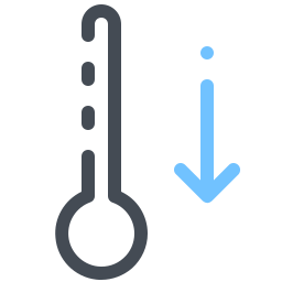 Thermometer Down icon