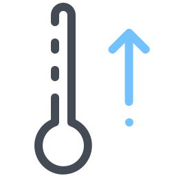 Thermometer Up icon