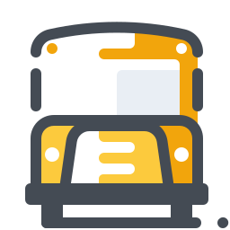 Traditional School Bus icon