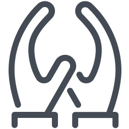 Two Hands Pointing Up icon