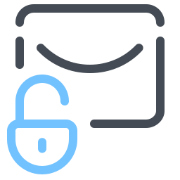 Unlock Message icon
