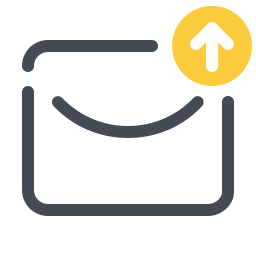 Upload Message icon