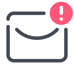 Envelope With Exclamation Mark icon