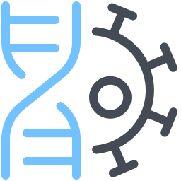 Virus DNA icon