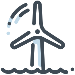 Water Wind Turbine icon