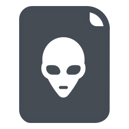Alien Icons In Pastel Style For Graphic Design And User Interfaces
