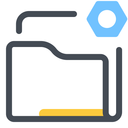 Folder Settings Icon Free Download Png And Vector