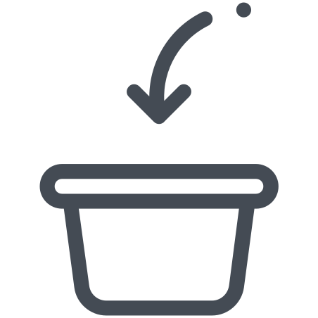Add to Basket icon in Pastel