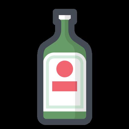 알코올 icon in 파스텔