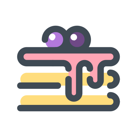American Pancakes icon in Pastel