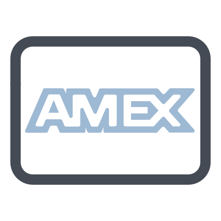 American Express icon in Pastel