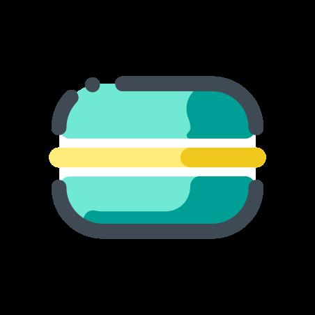 Apple Macaron icon