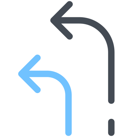 Arrows Turn Right icon