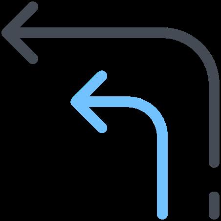 Arrows Turn Right icon