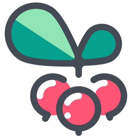 Christmas Berry icon in Pastel