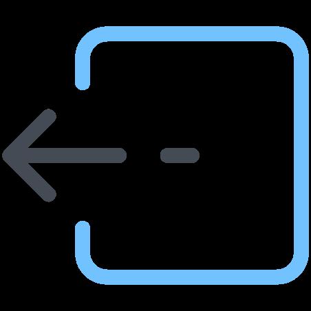 Box Move Left icon