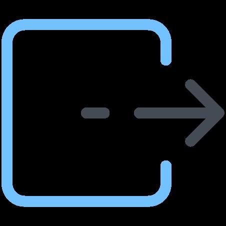 Box Move Right icon
