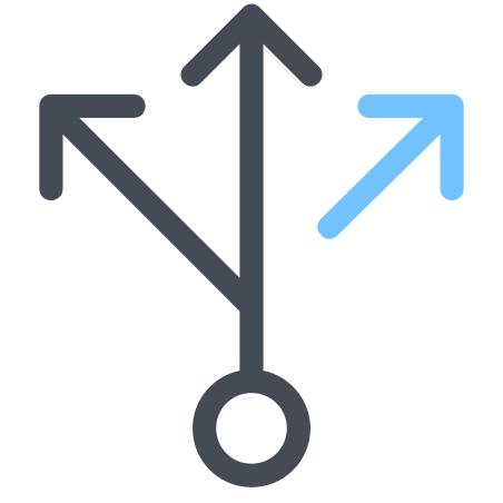 Branching Arrows icon