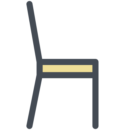 Chair Side View icon