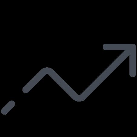Chart Arrow Rise icon