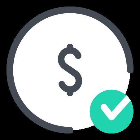 Check Dollar icon