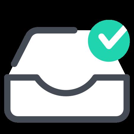 받은 편지함 확인 icon