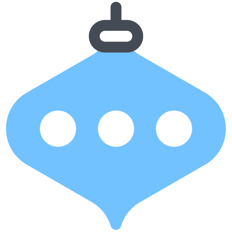 Christmas Decoration icon in Pastel