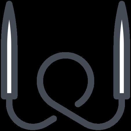 Circular Knitting Needles icon