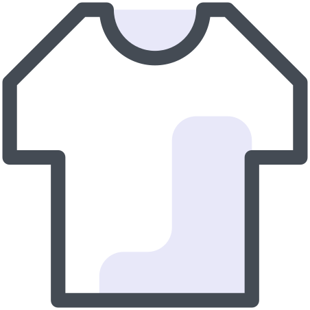 Clothes icon in Pastel