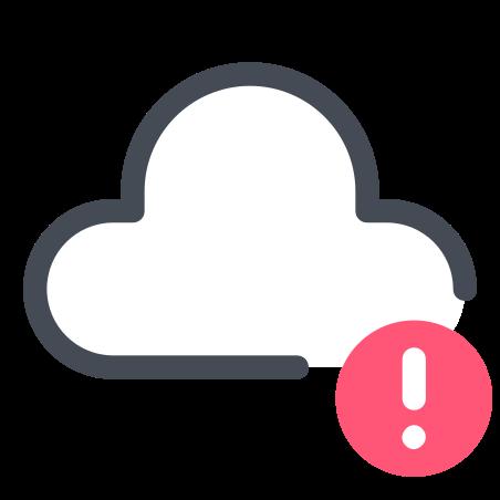 Cloud Alert icon