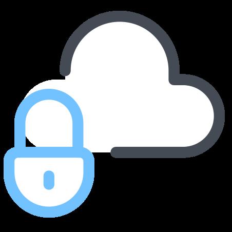 Secured Cloud Storage icon