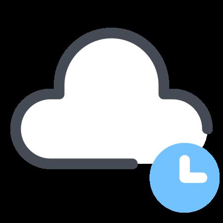 Cloud Waiting icon