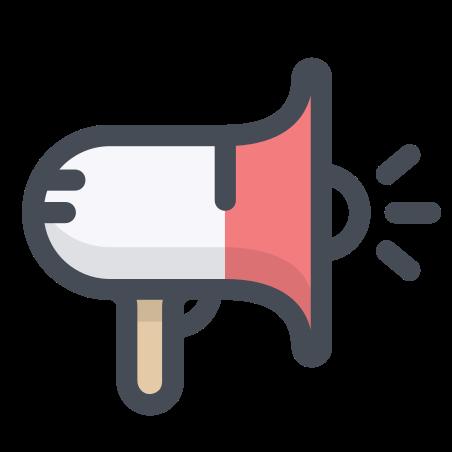 광고하는 icon