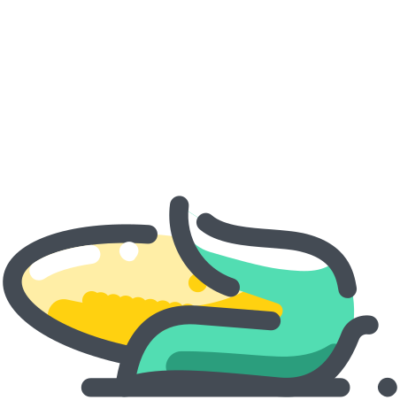 Corn icon in Pastel