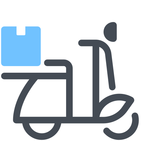 delivery scooter icon free download png and vector delivery scooter icon free download