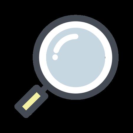 Detective icon in Pastel
