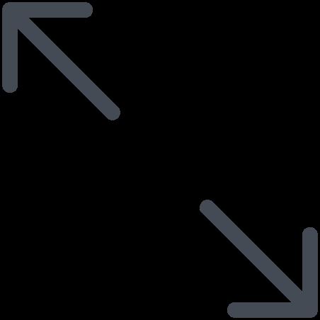 Diagonal Arrows Left icon