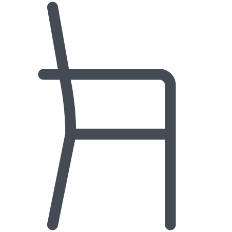 Dining Chair Side Vew icon