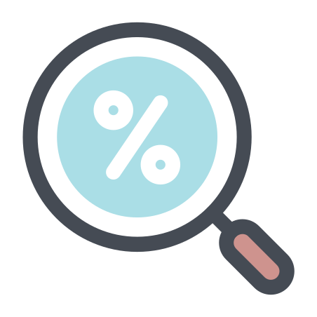 Discount Finder icon in Pastel