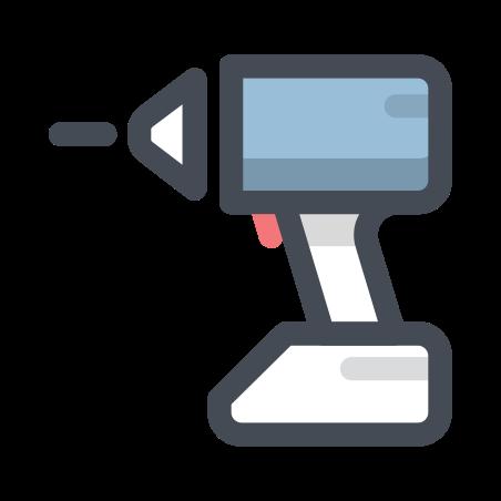 Drill icon in Pastel