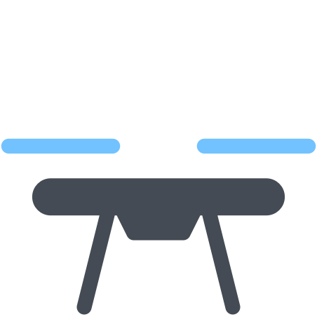 Drone icon in Pastel