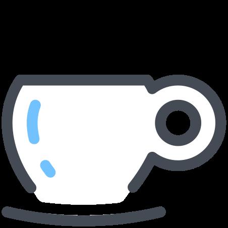 Espresso Cup icon in Pastel
