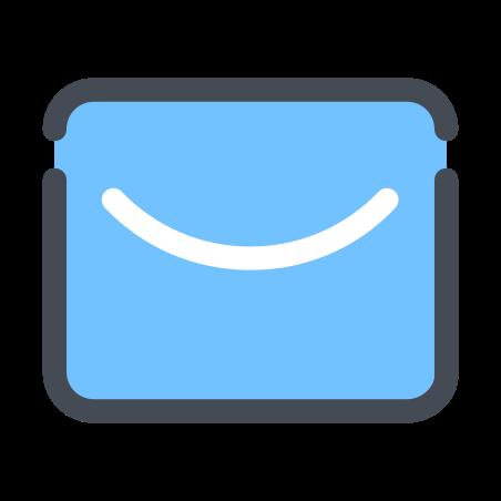 Envelope icon in Pastel